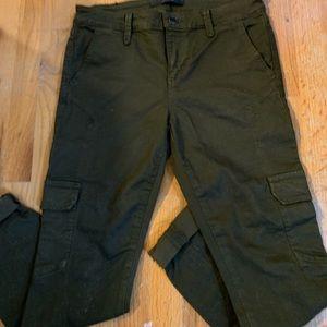Cargo skinny leg pants
